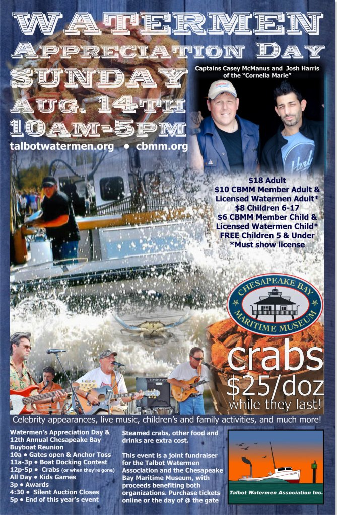 2016 Watermens Appreciation Day Poster - MWB