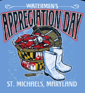 WAD 2016 T-Shirt White Boots and Bushel of Crabs
